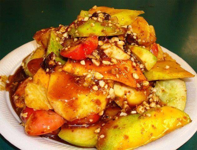 Rujak Buah | Indonesian Fruit Salad (Spicy)
