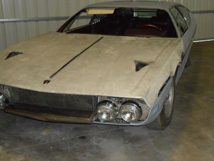 Barn Find Looking Lamborghini Espada The Only Reason Im Posting This Picture Of