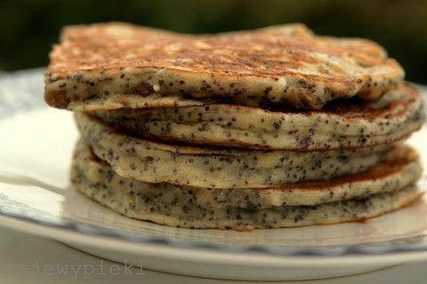 Moje Wypieki | Pancakes z makiem i słonecznikiem