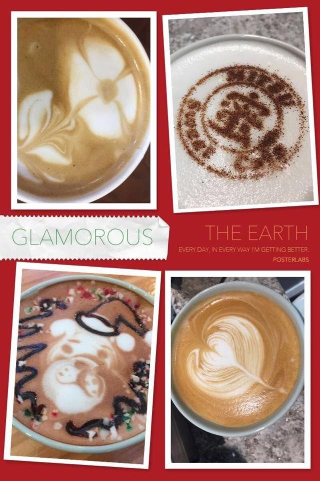 Latte Art & Tea Art @ Mitsu Sweet Cafe