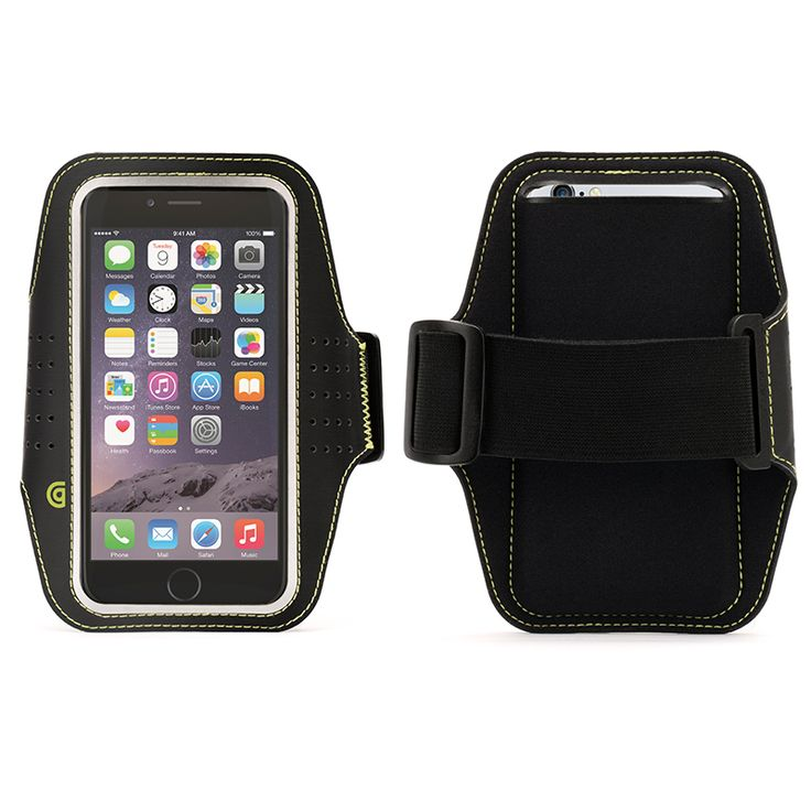 Griffin Trainer Stretch armband that adjusts to fit arms up to 18 inches around. For iPhone6