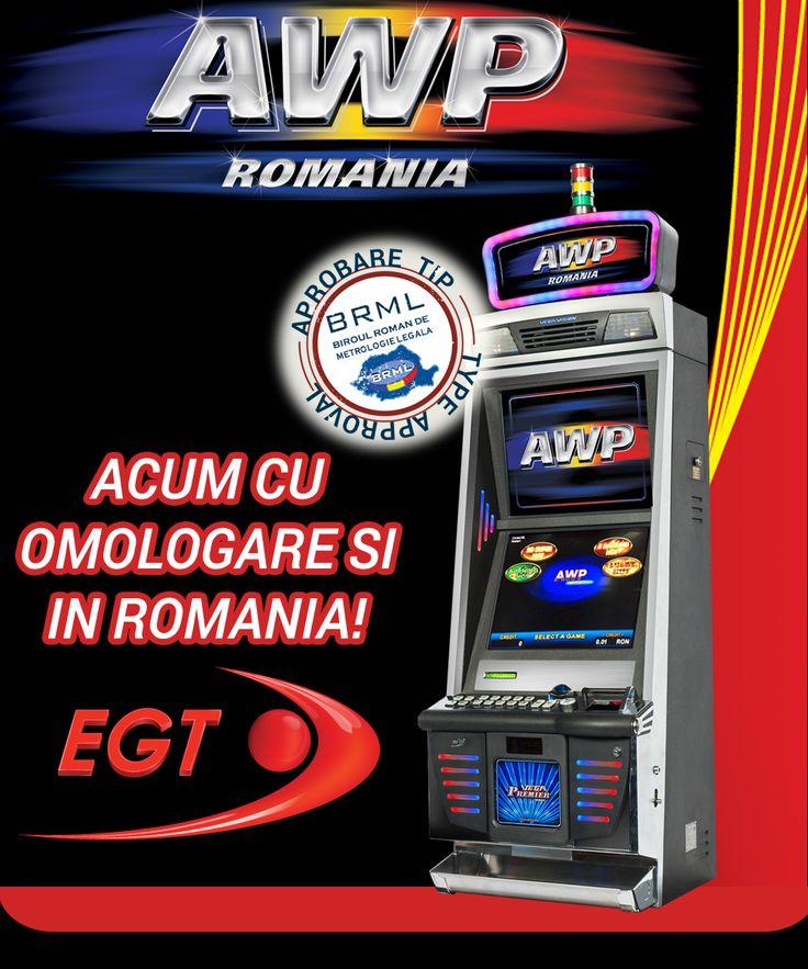 O categorie speciala de aparate de joc ce pot fi instalate in diverse locatii: AWP. Acum cu Aprobare de Tip pentru Romania: