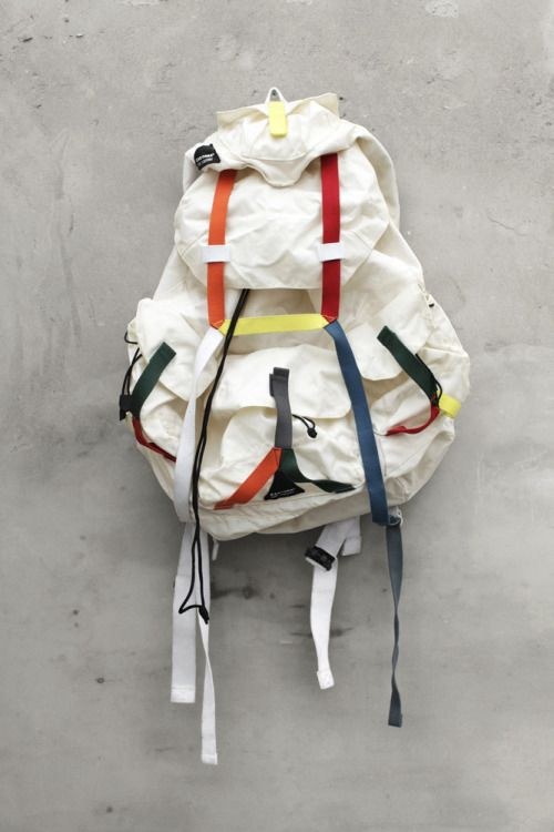antisects:  Raf Simons X Eastpak SS2008 Backpack