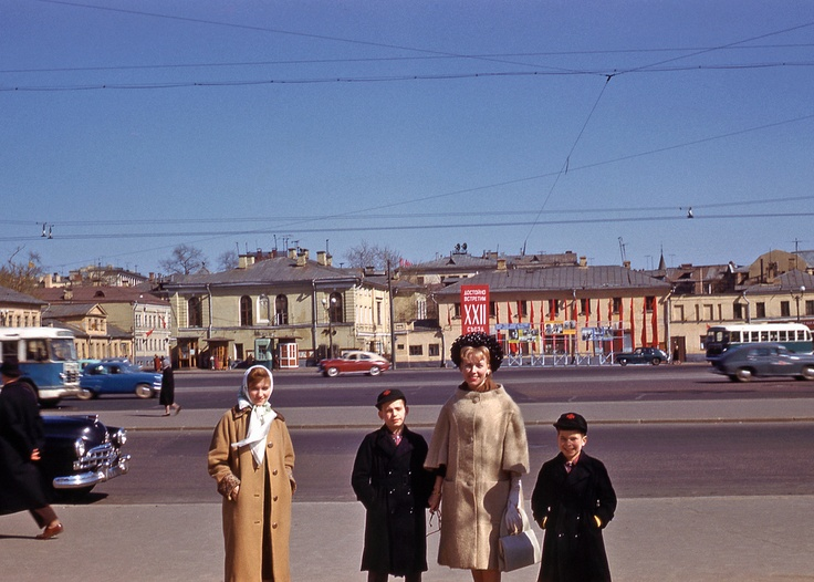 Москва 1961 в фотографиях американца (http://home-for-heroes.livejournal.com/129860.html)