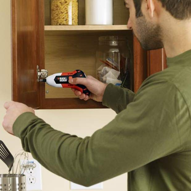 The Black & Decker Gyro is an electric screwdriver with gyroscopic technology, and an asset to a DIYer's tool kit.