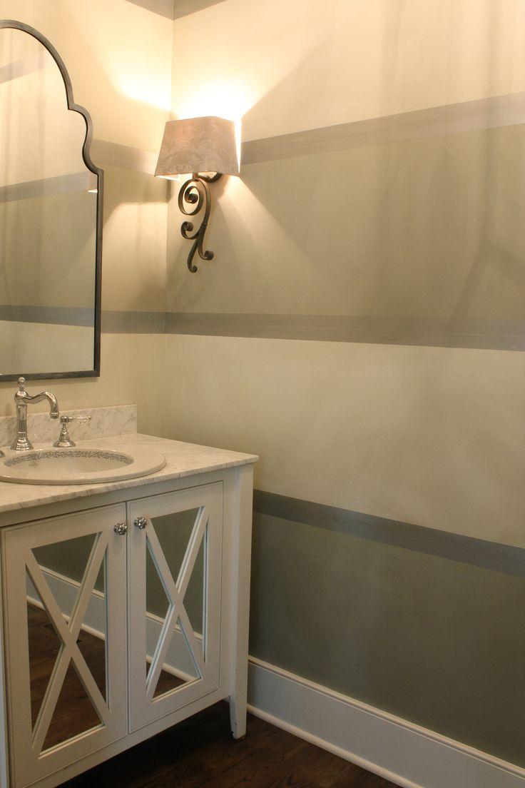 25 Best Ideas About Striped Bathroom Walls On Pinterest