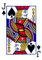 playing cards the jack of spades | Jack of spades