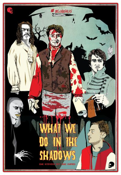 #WhatWeDoInTheShadows #DeliciousNecks #DrafthouseInspired A film by Taika Waititi and Jemaine Clement.