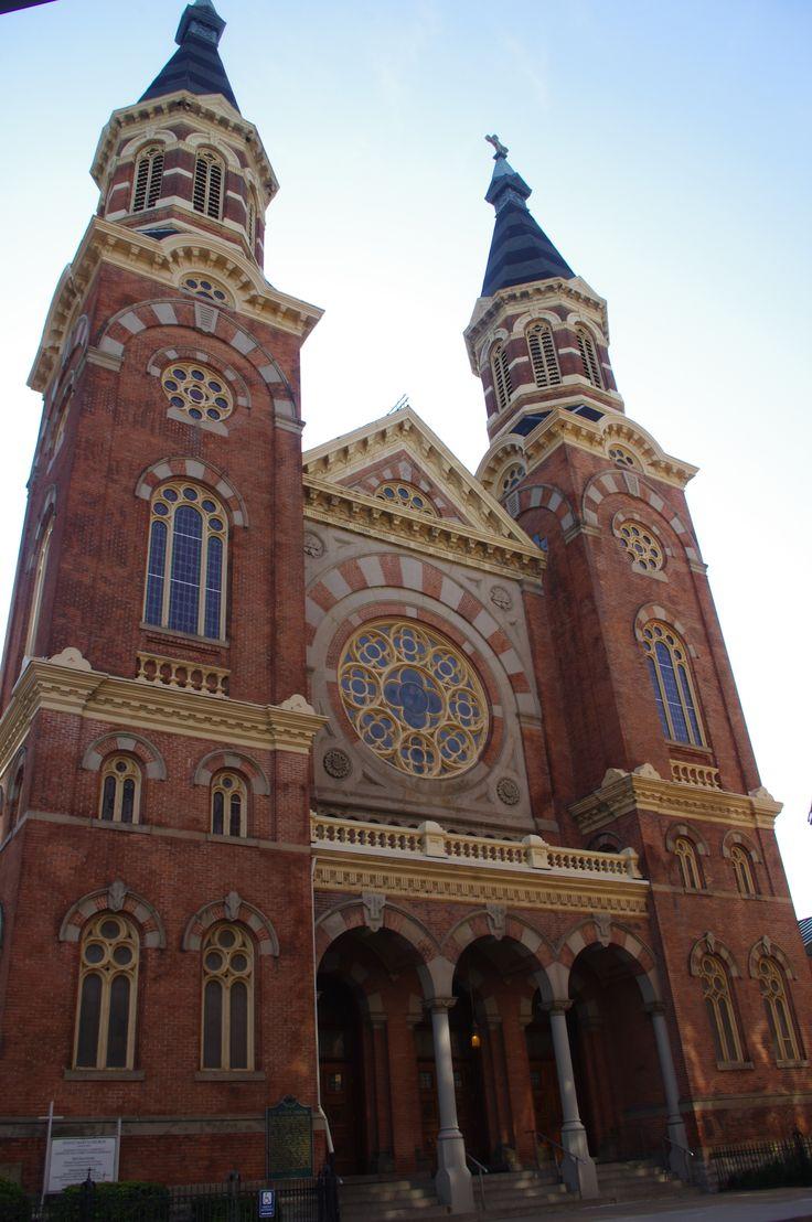 St. Mary's Catholic church in Detroit, MI. Oldest Catholic church in Detroit.
