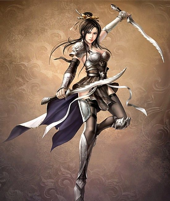 erotic woman warrior fantasy art