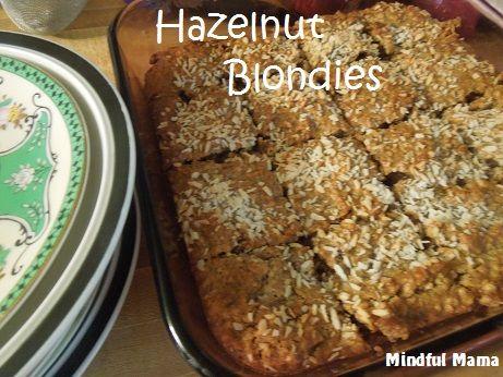 Hazelnut Blondies