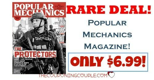 **RARE** Deal! Get Popular Mechanics Magazine for only $6.99/year! Best price around! Awesome gift idea!  Click the link below to get all of the details ► http://www.thecouponingcouple.com/rare-popular-mechanics-magazine-deal-8-99-year/ #Coupons #Couponing #CouponCommunity  Visit us at http://www.thecouponingcouple.com for more great posts!