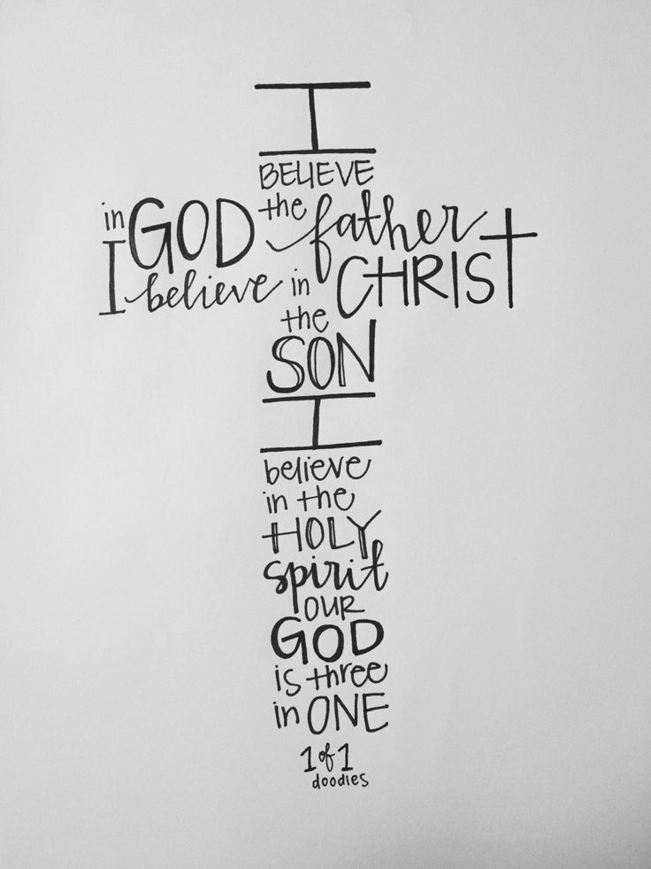 I believe in God the Father