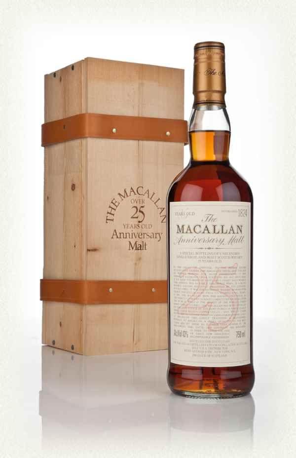 The Macallan 25 Year Old - Anniversary Malt (No Vintage Statement)