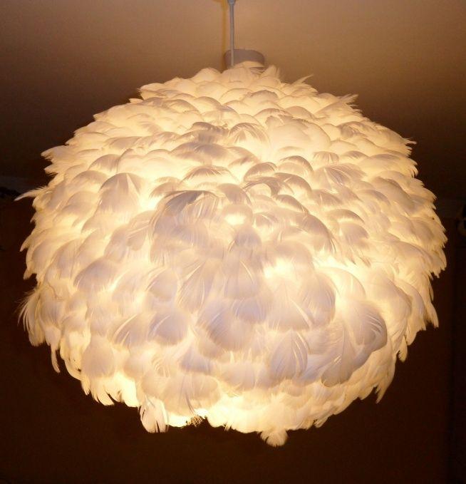 Zobacz zdjęcie lampa z piór wisząca/sufitowa w pełnej rozdzielczości