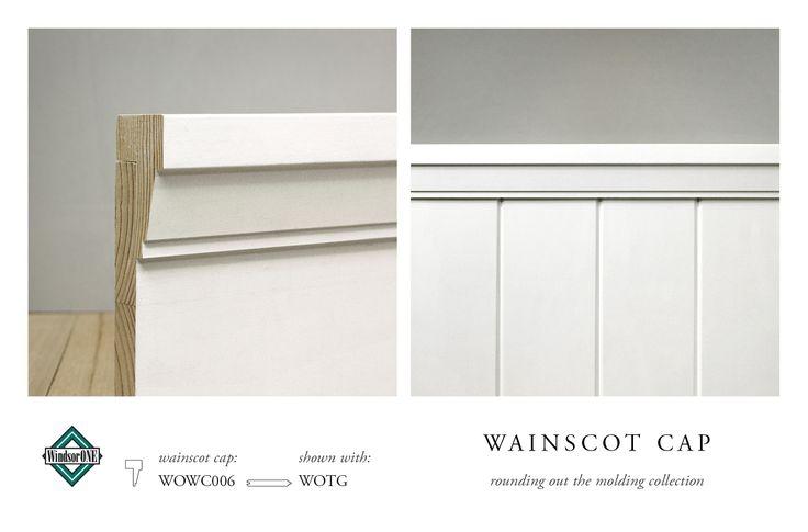 Wainscott Cap Detail