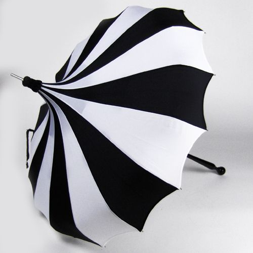 the most awesome umbrella in the universe. even though it doesn't rain much here, when it does...I'll be set up like an extra in a Burton film.