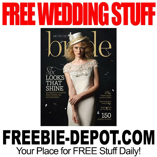 free wedding planning magazines by mail