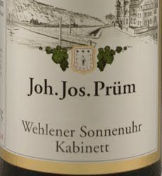 Joh. Jos. Prüm Wehlener Sonnenuhr Riesling Kabinett Mosel-Saar-Ruwer QmP 2008