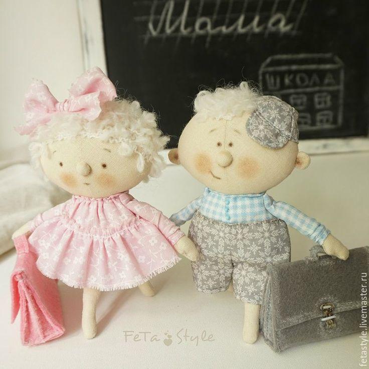 Купить Дошколята Кукла текстильная - кукла малышка, маленькая кукла, Маленькая…