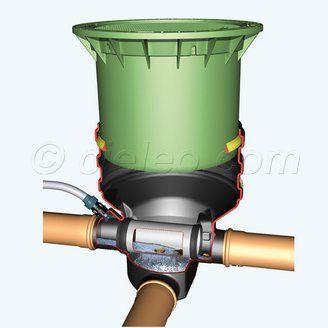 Le filtre eau de pluie externe Minimax s'installe en amont de la citerne. Sa rehausse ajustable facilite le réglage de l'ensemble par rapport au terrain. En option, un dispositif de nettoyage piloté par le module Aqua-Control, ainsi qu'une version avec couvercle fonte pour le passage des véhicules. A découvrir sur http://www.cieleo.com/s/26180_204499_filtre-eau-pluie-externe-telescopique-minimax