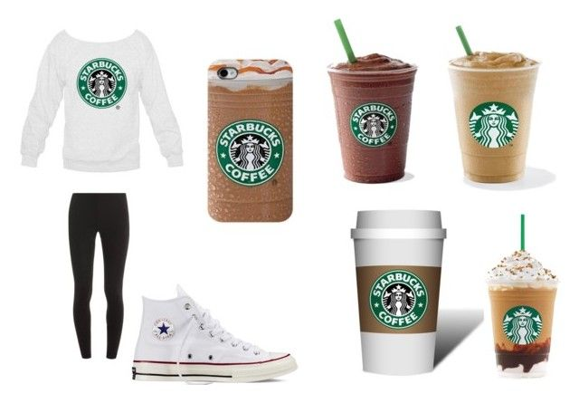 """""""starbucks coffee day"""" by scardonacalle ❤ liked on Polyvore"""