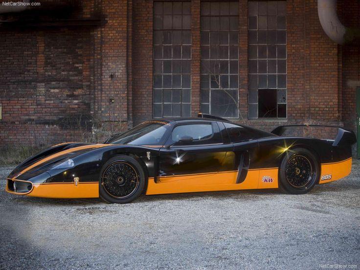 Visit The MACHINE Shop Café... (Best of Maserati @ MACHINE) Edo Competition MC12XX Racer