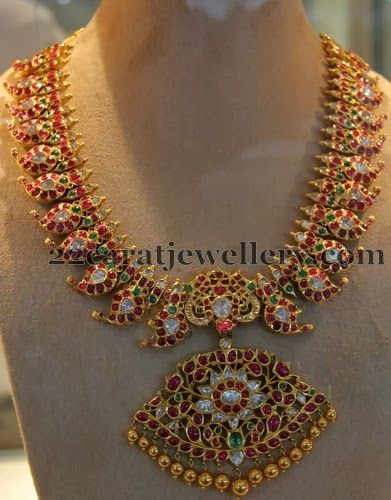 Mango Mala from Hitex Gems | Jewellery Designs