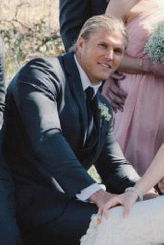 Clay matthews wedding images for Green bay packers wedding dress