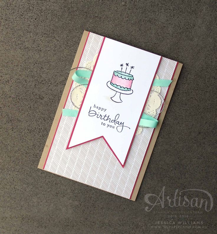 Stampin' Up! Endless Birthday Wishes card