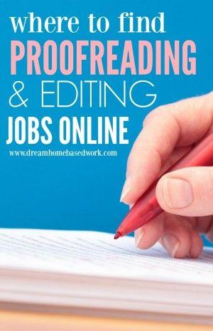 Essay editor employment