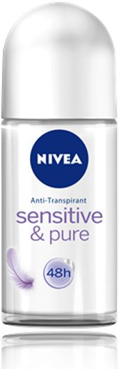 Nivea Sensitive and Pure Deo Roll On