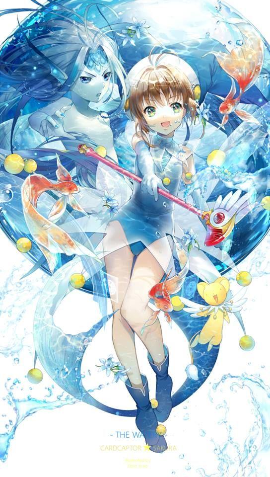 K sakurand Watery - Cardcaptor Sakura (By Ekita)