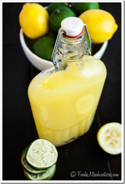 Margarita Mix--There's one little secret ingredient that makes this mix a winner. Okay…so it's not very secret but the juice of an orange is what sets this mix apart.