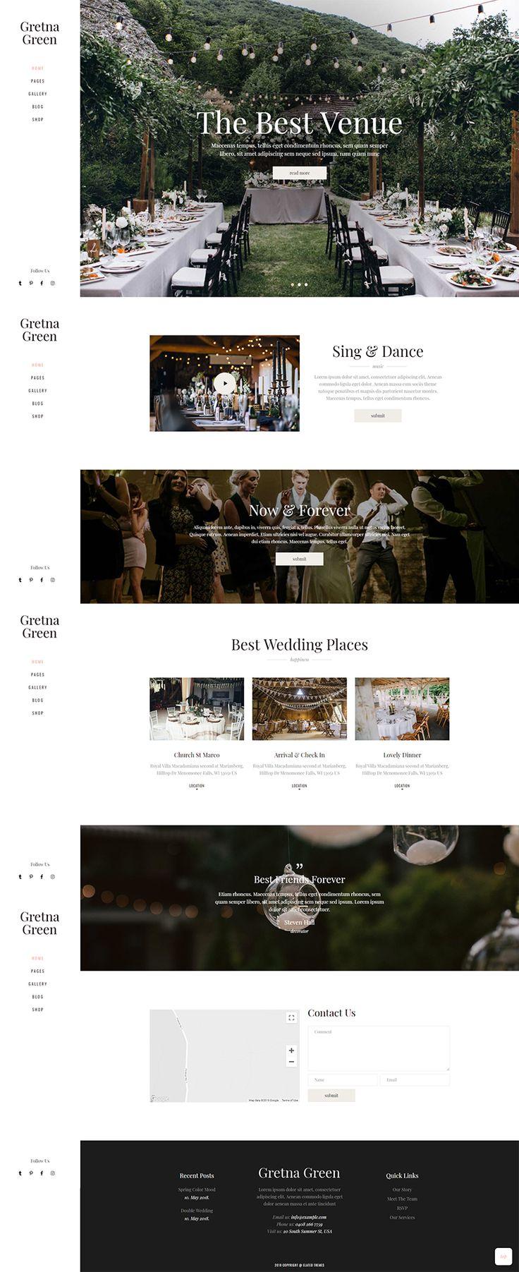 Venue Home Gretna Green Wedding Gretna Green Wordpress Website Design