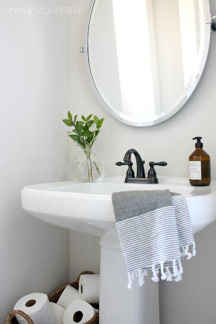 Powder Room Guest Bathroom Or Hall Bathroom Whichever