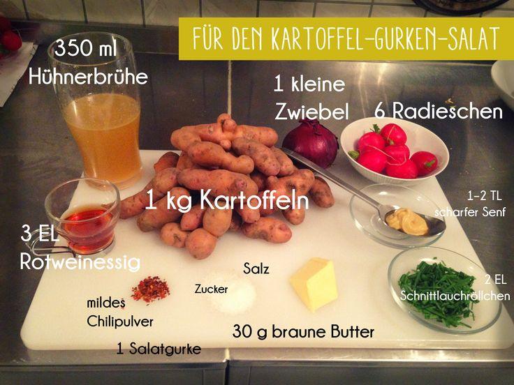 Alfons Schuhbeck hat uns Exklusiv ein tolles Kindergericht gezaubert: Zitronenbackhendl mit Kartoffelsalat. Hier die Zutaten. #schuhbeck #librileo #kindergericht #kartoffelsalat