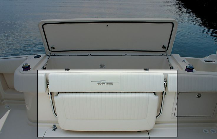 Boat Bench Seat With Storage Seating Port Lounge Seat W Enclosed Storage Below Boats