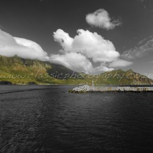 Chapman's Peak from Hout Bay, Cape Town