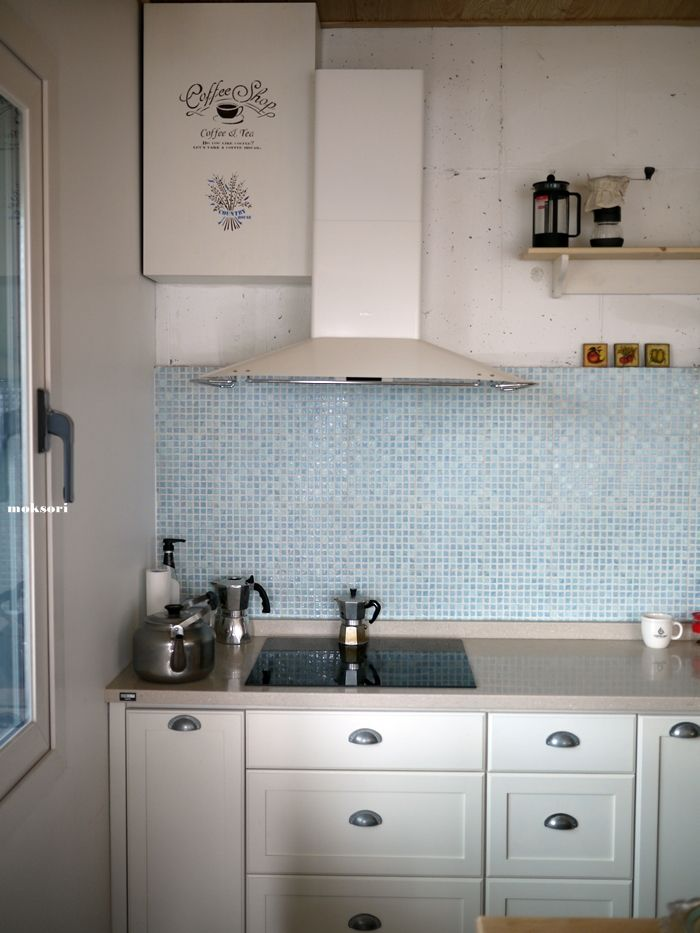 Wood  kitchen -  moksori.kr
