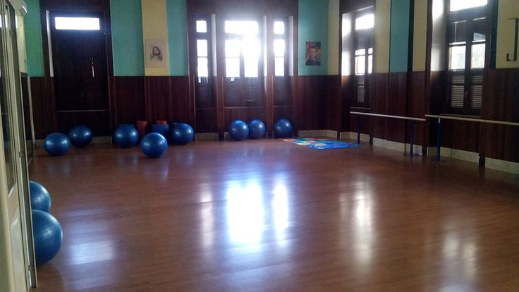 Gli spazi della Scuola: sala danza.
