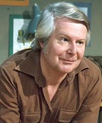 Tony Hart - presenter of British Televison programme about arts and crafts for Children