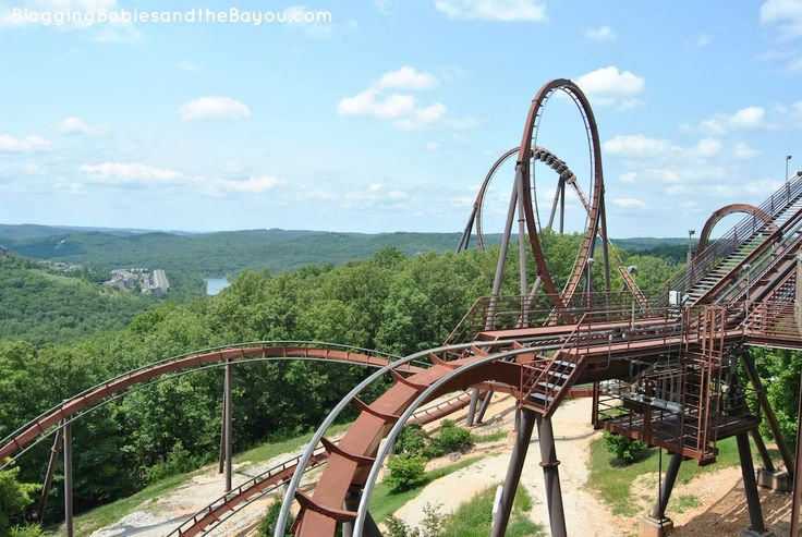 Thrill Rides And Rollercoasters At Silver Dollar City Family Travel Explore Branson Silver Dollar City
