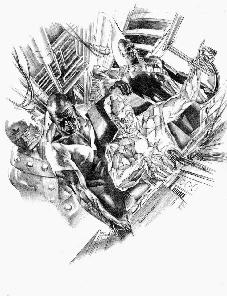 The Original Guardians Of The Galaxy By Alex Ross Alexross