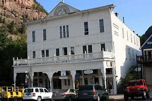 Historic Western Hotel Ouray Colorado