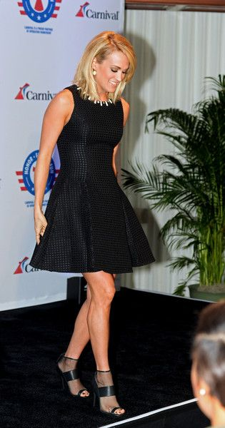 Carrie Underwood Photos - Carrie Underwood Announces Partnership With Carnival Cruise Line - Zimbio