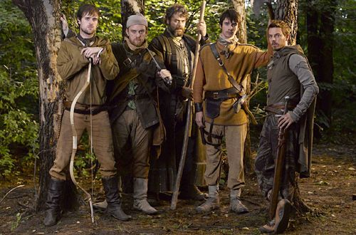 Key cast members from Robin Hood . . (Game of Thrones fans might recognize Harry Lloyd - he played Viserys Targaryen)