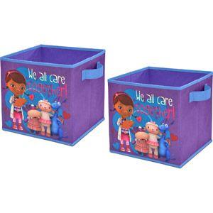 Doc McStuffins Storage Cubes, Set of 2