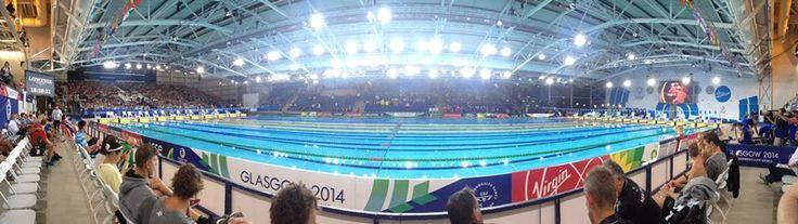 Swimming at Glasgow