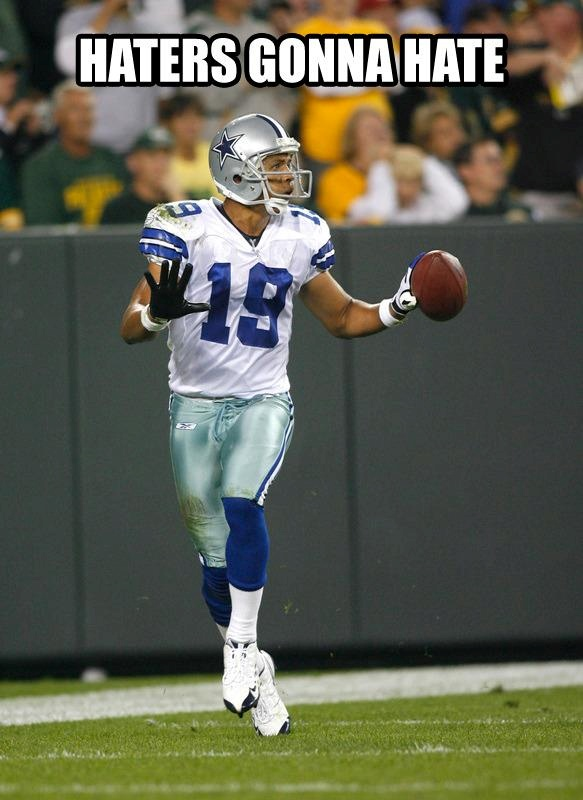 Miles Austin I watched him play today and I still can't believe it!!!